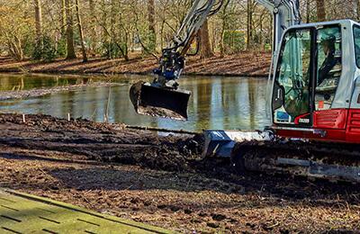 excavator london hire